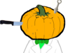 You've never once been disappointed to receive a pumpkin full of knives, and you're not about to make an exception.
