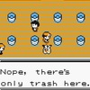 Nope, there's only trash here.