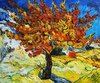 Van Gogh's Mulberry Tree painting.