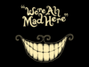 "My Icon is the smile of the Cheshire Cat and the frase: ""We're All Mad Here"".  That's my Icon just because I feel very connected to that crazy cat."