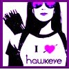Kate hearts Hawkeye