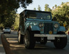A Picture of Stiles' Blue Jeep: Roscoe