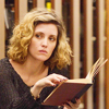 delphine cormier in the library