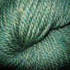 Some squishy green knitting yarn.