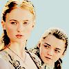 Sansa & Arya Stark (Season 1)