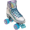 Holo roller-skates with glitter wheels
