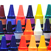 multi-colored crayons