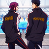 Rin and Sousuke