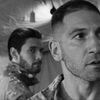 Billy Russo (Ben Barnes) and Frank Castle (Jon Bernthal) from Marvel's The Punisher (2017).
