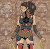"""The world is mine,"" Wonder Woman said."