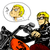 Laxus on a Bike