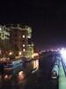 City river at night