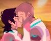 Keith x Lance kiss