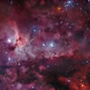 My icon is of a Smoky Red Nebula.  It's very beautiful, and I try and use it on all of my accounts.
