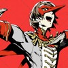 A screenshot of the Critical Role 2 intro showing Beau and Caleb. Caleb's eyes are white while he looks through Frumpkin. Beau has her hand on his shoulder and is pouting.