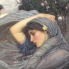 Boreas (detail) - John William Waterhouse