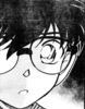 the adorable face of a sad Edogawa Conan when he realises the tragic truth