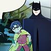 Dick comforts Damian