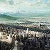 Demon's Souls - A soaring view of the Kingdom of Boletaria