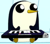 Gunther, the penguin from Adventure Time