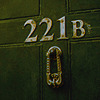 shot of 221b door number by lishaney