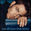 """we all love that story"" - chris pine"