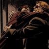 Drawing of Matt and Foggy hugging