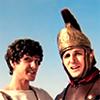 Mark Antony and Julius Caesar from Horrible Histories