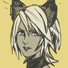 Image of norted Aqua from Kingdom Hearts, with cat ears