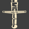 It's an achievement icon showing Eyelander, Demoman's claymore (and also a ghost lol)