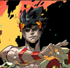 Picture of Zagreus, protagonist of the videogame Hades.