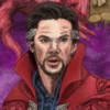 Illustration of Stephen Strange