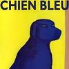 Blue Dog from the children book Chien Bleu