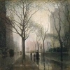 The Plaza After Rain - By Paul Cornoyer c. 1910