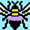 a bee in a tutu