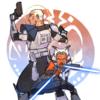 Rex & Ahsoka (The Clone Wars, 2008)