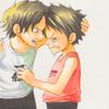 Ace + Luffy