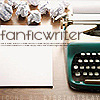 fanfic writer - manual typewriter crumpled paper