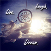 live. dream. laugh.
