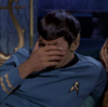 A distressed spock