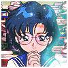 Mizuno Ami loves books!