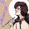 """Vic Reeves proudly holding his lapels beside the text: """"That was my idea"""""""