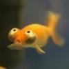 The terrified goldfish