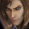 Trevor Belmont from the Castlevania Pachislot game smirking slightly at the camera