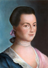 Because Abigail Adams was the woman.