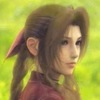 Aerith Gainsborough in a green field