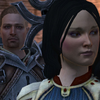 Bethany Hawke with Cullen Rutherford in foreground