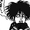 robert smith drawn by atsuko shima for 8-beat gag
