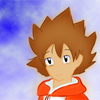 personally made fanart of Tsunayoshi from KHR