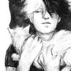 todoroki holding a cat